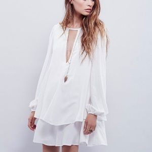 Free People Beck Tiered Dress